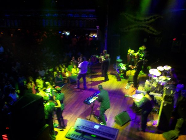 B.S.T.C. opening @ House of Blues for Kindred Family Soul