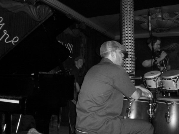 @ Greenmill Jazz Club of Chicago backing Frank Catalano
