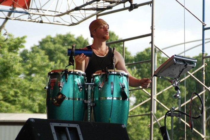 backing obi soulstar at african fest washington park chicago